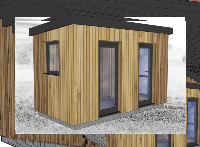 Domek na zahradu
